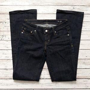 SEVEN7 Jeans Dark Wash Boot Rhinestone Detail 26